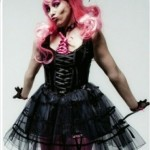Pink Doll Gothic Burlesque